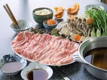 ★食べ放題★豚しゃぶ鍋(2人前例)