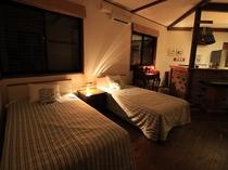 Villaのベッドルーム