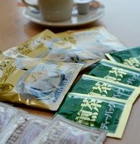 コーヒー・緑茶