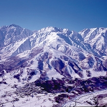 白馬八方尾根スキー場まで0分