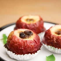 手作りスイーツ6 まるごと焼きリンゴ