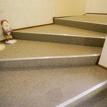 レストランへの階段