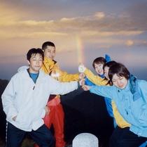 北アルプスのどこかにある『伝説の虹の剣!!』♪