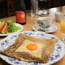 ガレット・コンプレット 白馬クレーピエの作る朝食