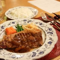 夕食A フルコース メイン