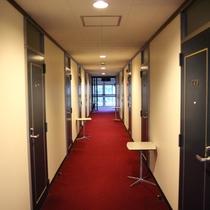 ペンション棟廊下