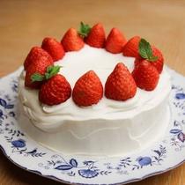 手作りスイーツ2 いちごショートケーキ