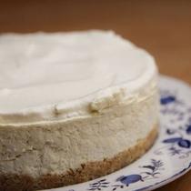 手作りスイーツ3 レアチーズケーキ