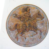 白馬に伝わる伝説の盾