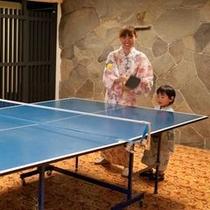 ■家族で卓球