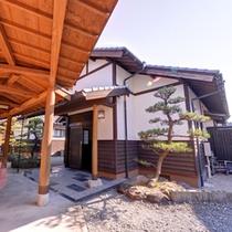 *露天風呂付き和室(離れ)/まるで別荘に来たかのようなプライベート感を満喫できるお部屋。