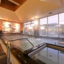 *大浴場/保湿効果に優れたとろとろの温泉は、特に皮膚炎に効果◎肌を乳化して老廃物を除去します。