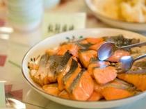 朝食メニュー・焼き魚
