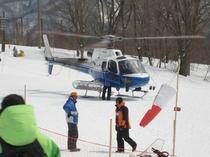 ヘリコプターツアー(栂池高原スキー場)