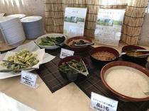 朝食バイキング:旬のお惣菜コーナー4月