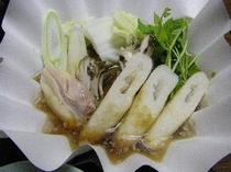 秋田名物「きりたんぽ鍋」