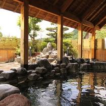 鹿山の湯(露天風呂)