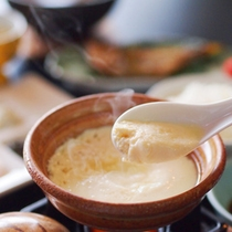 【朝食一例】出来たてお豆腐を召し上がれ♪