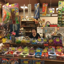 昭和レトロな駄菓子屋「てりふり屋」