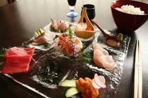 海鮮丼お造り