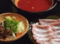 エゴマ豚鍋
