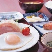 朝食(たまご)