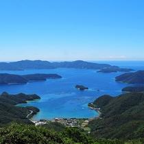 *高知山展望台より大島海峡