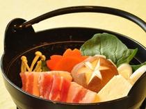 【夕食一例/ビジネスプラン】八幡平ポークしゃぶしゃぶ