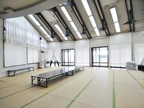 【和室研修室】約40名様まで収容可能です。