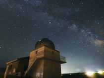【ひろのまきば天文台】 天気の良い日はキレイな星空観察ができます