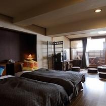 露天風呂付き客室和洋室