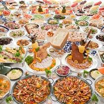 洋食レストラン「ブルーラグーン」 洋食ディナーバイキング(イメージ)