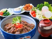 1泊2食付Bプラン日曜日/焼肉丼膳(イメージ)