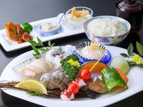 1泊2食付Bプラン火曜日/海鮮焼き膳(イメージ)