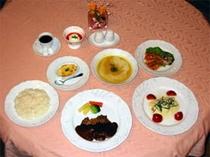 夕食例(コース料理)