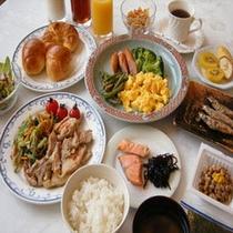 ANNEX自慢の朝食【ごはん・みそ汁・ドリンク類おかわり自由】