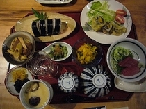 7月19日の夕食