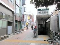 本所吾妻橋駅(A-2出口)から132m!徒歩2分!!