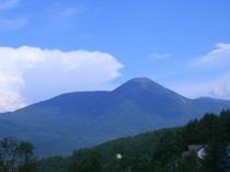美しい蓼科山