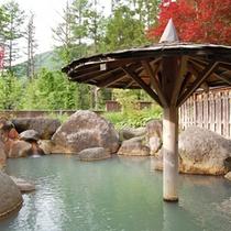 平湯の良質な温泉でごゆっくりお寛ぎください。