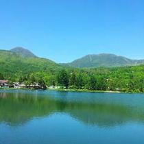 初夏の蓼科湖