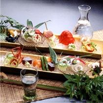 夏のお料理(イメージ)(500X500)