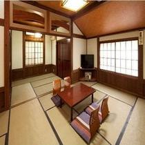 畳の感触が気持ちいい広めのお部屋