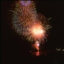 【弓ヶ浜花火大会】海と夜空と大輪の花火♪8月8日