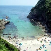 プライベートビーチのような【碁石ヶ浜】