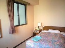 客室例:シングル(ベッドスペース)