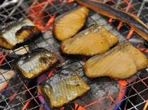☆朝食☆ 魚の炙り