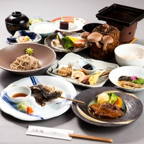 和食のセットメニュー