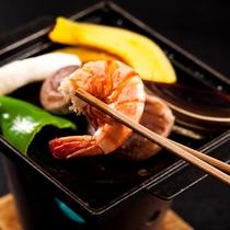 新鮮 シイタケ 鉄板焼き