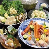海鮮寄せ鍋。